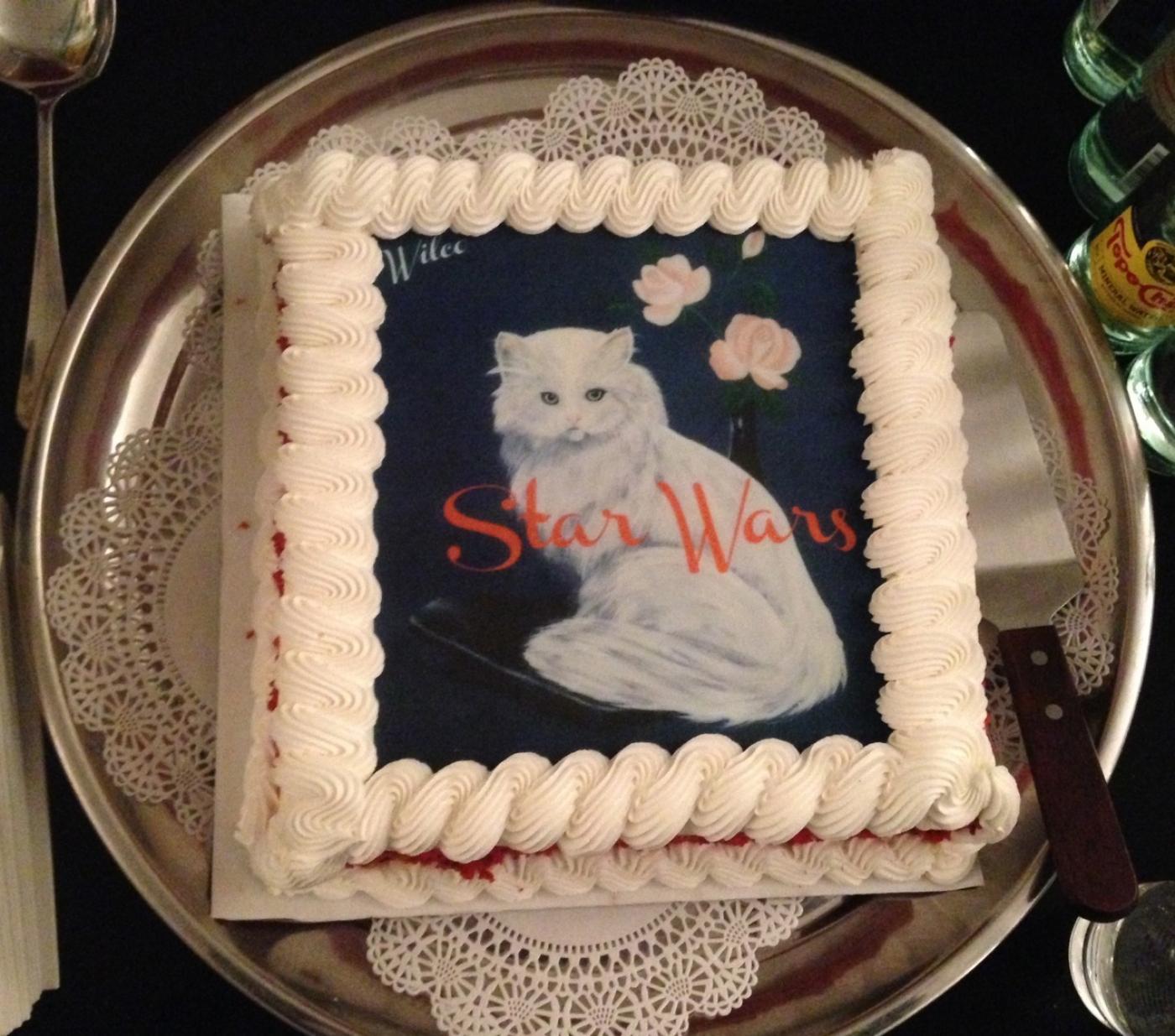 Wilco Kitty Cake in Brooklyn