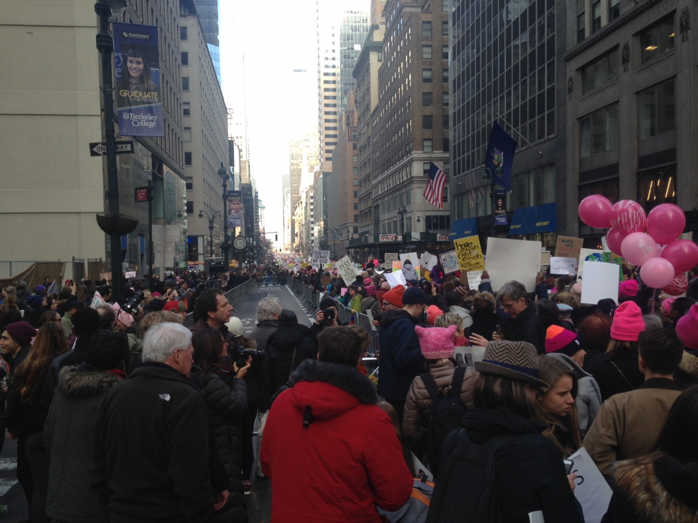 NYC marches!
