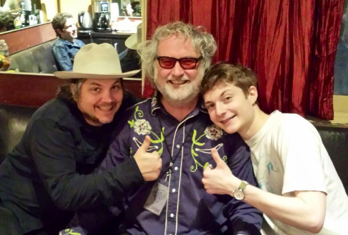 Luke, Grandpappy Amos, and Lil Luke
